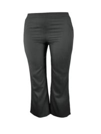 Zwarte linnen broek