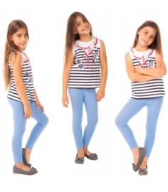 Licht blauwe meisjes legging