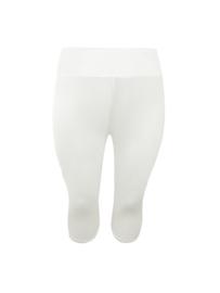 Driekwart legging ECRU | viscose | brede band