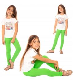 Groene meisjes legging ®Bensini