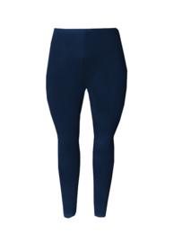 Legging smalle tailleband donkerblauw