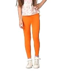 Oranje meisjes Legging