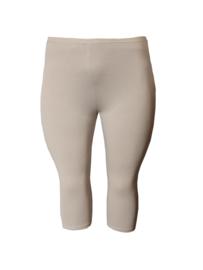 Licht beige driekwart legging