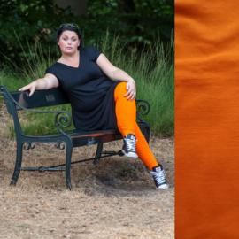 Oranje legging