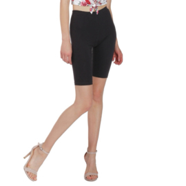 Donkergrijze korte legging