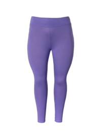 Legging  brede tailleband paars