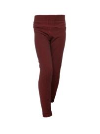 Meisjes legging Ruby Red