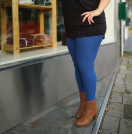 Winter legging Selena DENIM blauw