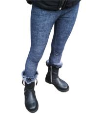 Meisjes legging als skinny jeans