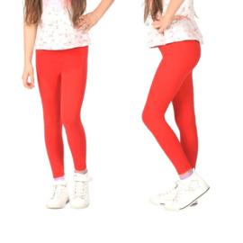 Rode meisjes legging Bensini