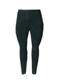 Legging smalle tailleband zwart