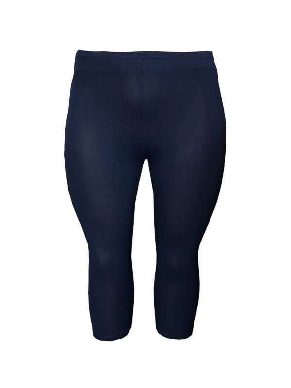 Legging driekwart donkerblauw