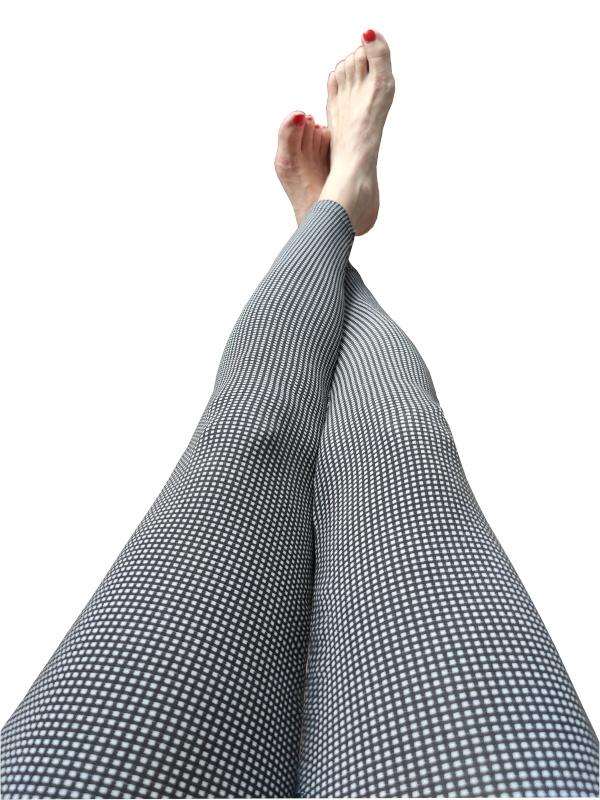 Legging Ruby black&white
