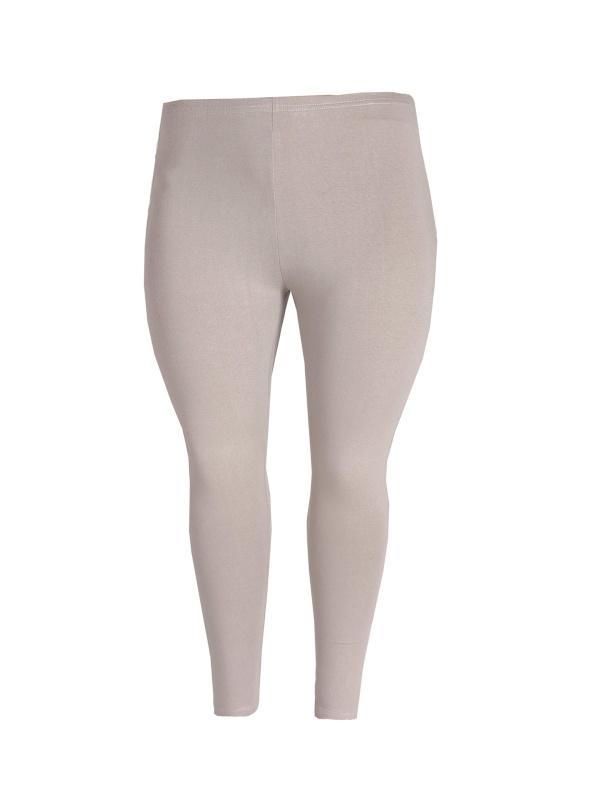 Legging smalle tailleband beige