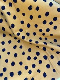 Dots oker geel tricot
