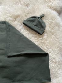 Buideltop khaki groen