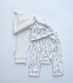 Newborn badstof off white