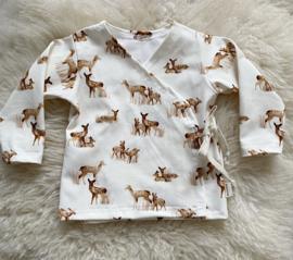 Overslag shirtje Bambi