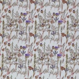 Flared paarse bloemen