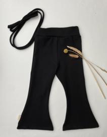 Flair zwart tricot