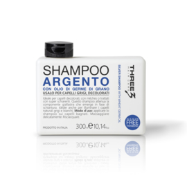 THREE SHAMPOO ARGENTO 300ML