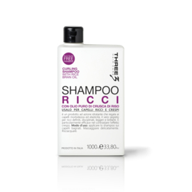 THREE RICCI CURL SHAMPOO 1000ML