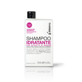 THREE HYDRATE SHAMPOO 1000ML
