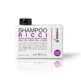 THREE RICCI CURL SHAMPOO 300ML