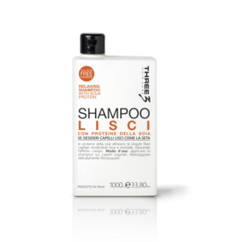 THREE LISCI SHAMPOO 1000ML