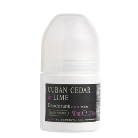 Bathhouse Cuban Cedar & Lime Deodorant