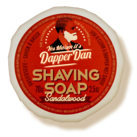 Dapper Dan Scheerzeep Sandalwood