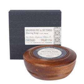 Bathhouse Spanish Fig & Nutmeg Scheerzeep