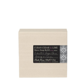 Bathhouse Cuban Cedar & Lime Scheerzeep Refill