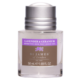 St James Of London Lavender & Geranium Aftershave Gel