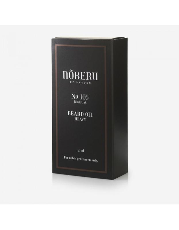 Noberu Of Sweden Black Oak Baardolie