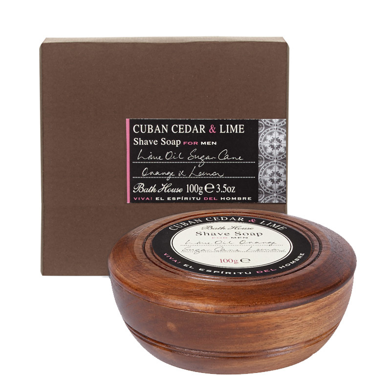 Bathhouse Cuban  Cedar & Lime Scheerzeep