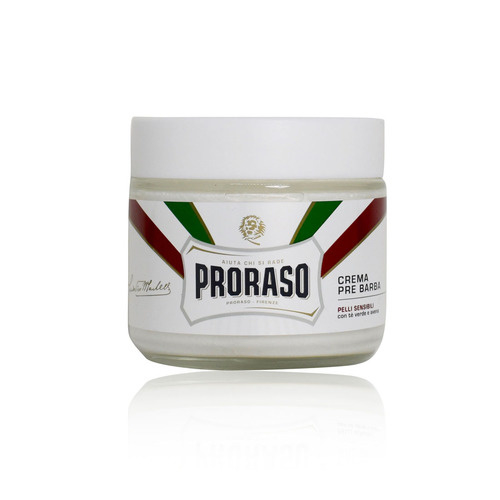 Proraso Pre Shave Creme Sensitive Wit
