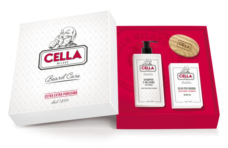 Cella Milano Giftset Baardproducten