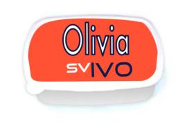 Lunchbox  met naam SV IVO