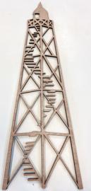 Vuurtoren Lemmer hout