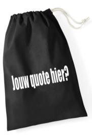 Lusjestas/leertjestas met jouw quote