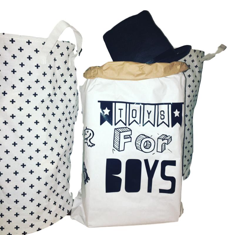 Paperbag met tekst naar keuze
