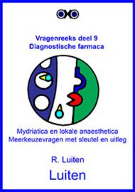 Diagnostische farmaca. Meerkeuzevragen met sleutel en uitleg.