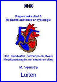 Anatomie en fysiologie:  Oefenvragen hart en bloedvaten, afweer, hormonen. Meerkeuzevragen met sleutel en uitleg.