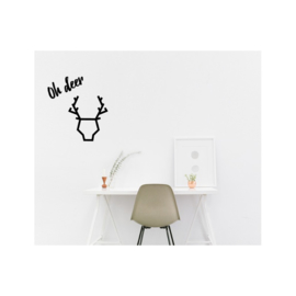Muursticker deer