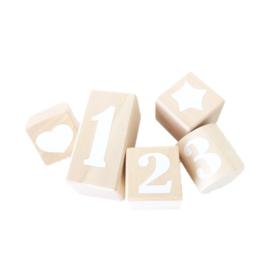 123 blokken WHITE