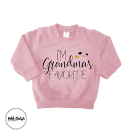 Grandma sweater pink