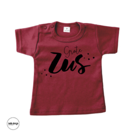 T-shirt grote zus