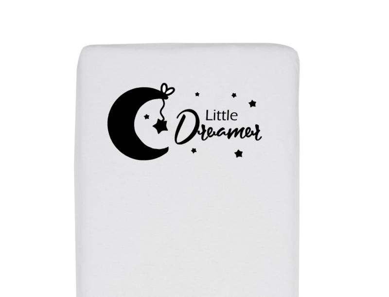 Little dreamer ledikanthoeslaken