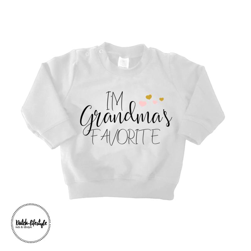 Grandma sweater white